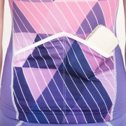Cycling top - Purple Triangle