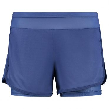 Double layer running short - blue