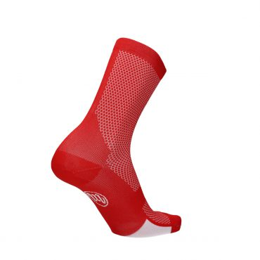 sock - run & bike - red