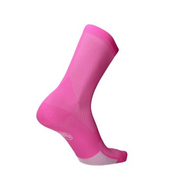 pink sock for running and cycling